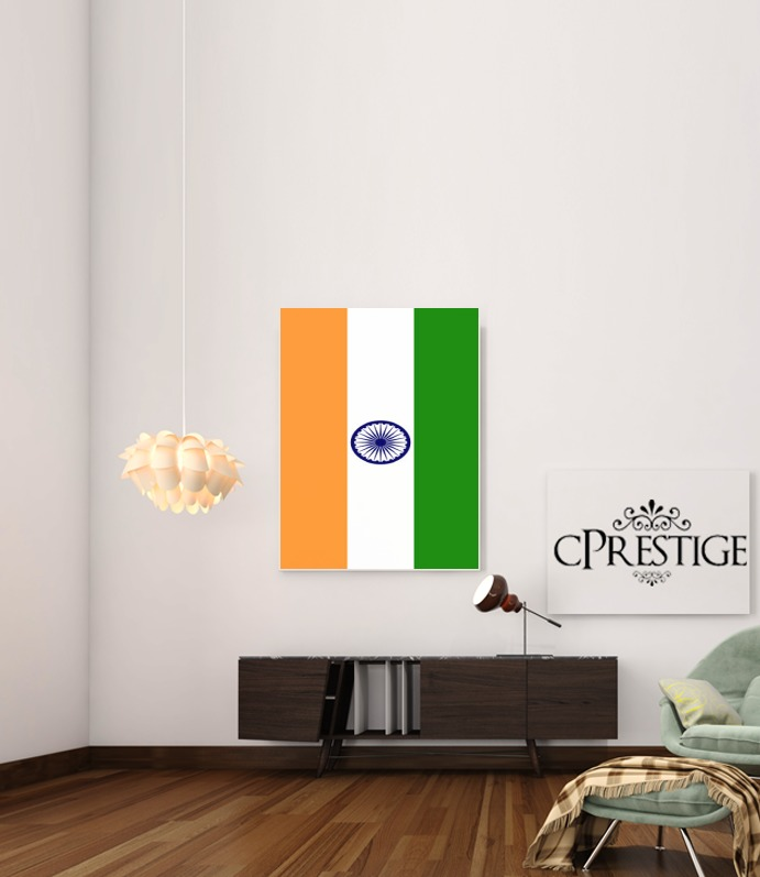 Flag India for Art Print Adhesive 30*40 cm