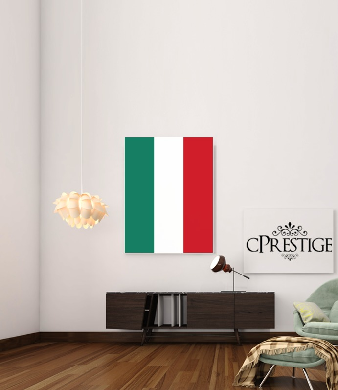 Flag Italy for Art Print Adhesive 30*40 cm