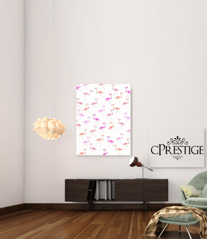 FLAMINGO BINGO for Art Print Adhesive 30*40 cm