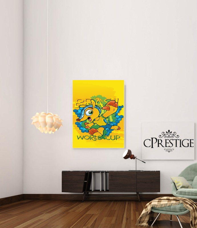 Fuleco Brasil 2014 World Cup 01 for Art Print Adhesive 30*40 cm