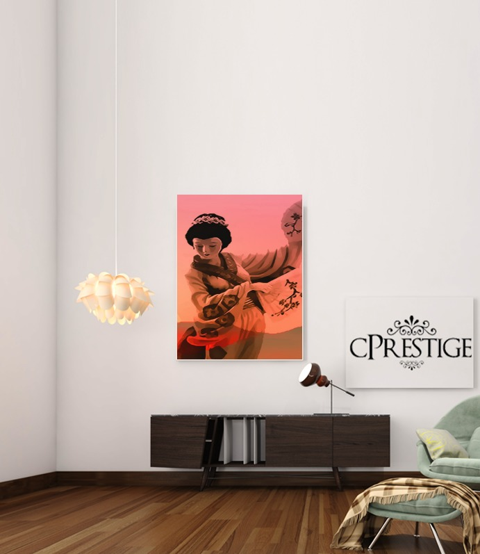 Geisha Honorable for Art Print Adhesive 30*40 cm
