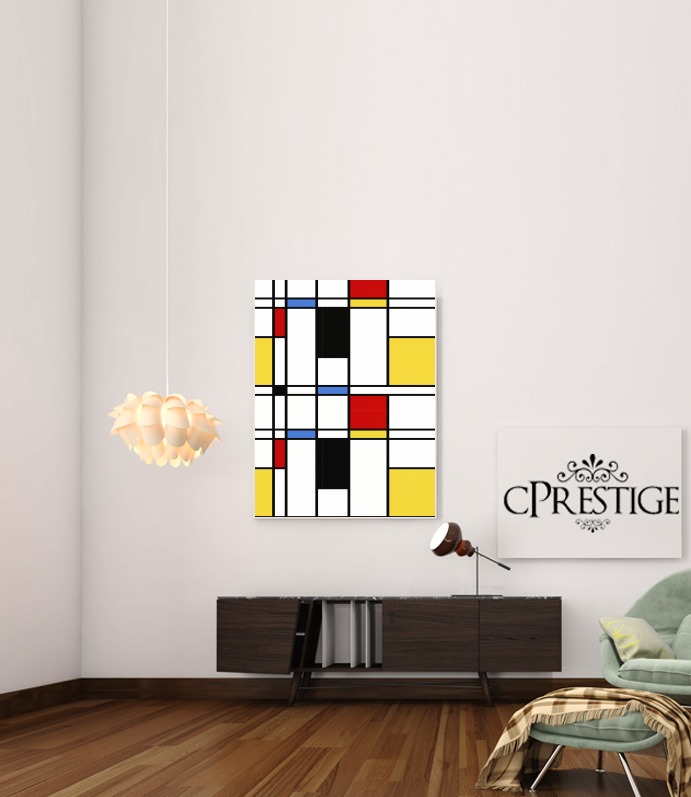 Geometric abstract for Art Print Adhesive 30*40 cm