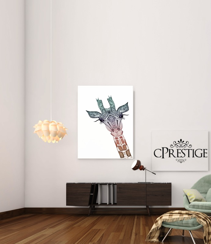 GIRAFFE for Art Print Adhesive 30*40 cm