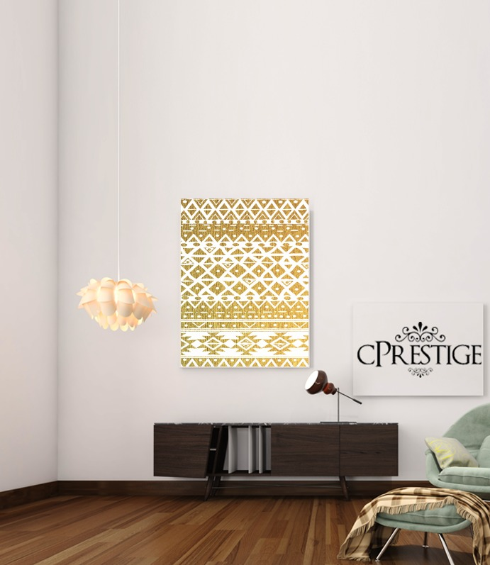 GOLDEN TRIBAL for Art Print Adhesive 30*40 cm