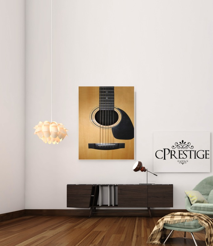 Guitar for Art Print Adhesive 30*40 cm