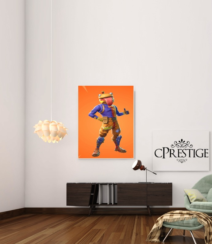 Hamburger Fortnite skins Beef Boss for Art Print Adhesive 30*40 cm