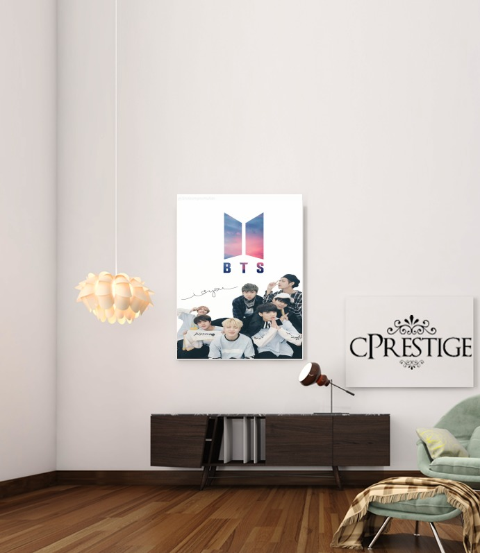 K-pop BTS Bangtan Boys for Art Print Adhesive 30*40 cm