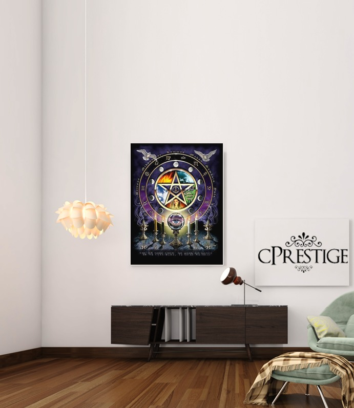 Magie Wicca for Art Print Adhesive 30*40 cm