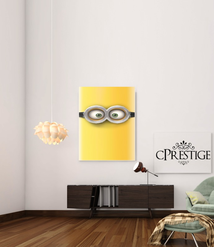 minion 3d  for Art Print Adhesive 30*40 cm