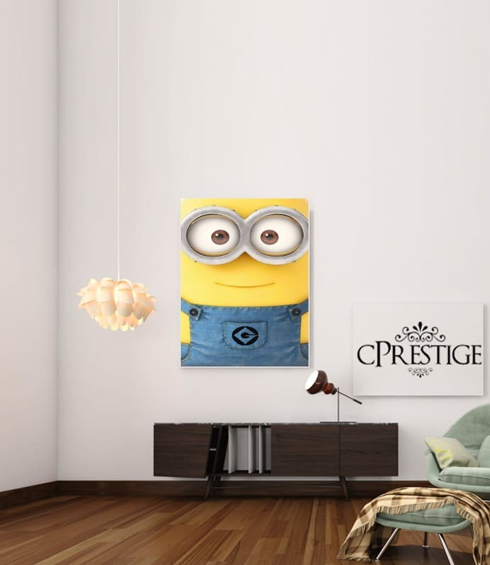 Minions Face for Art Print Adhesive 30*40 cm