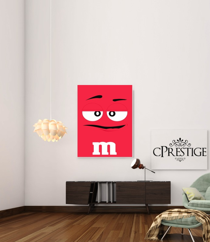 M&M's Red for Art Print Adhesive 30*40 cm