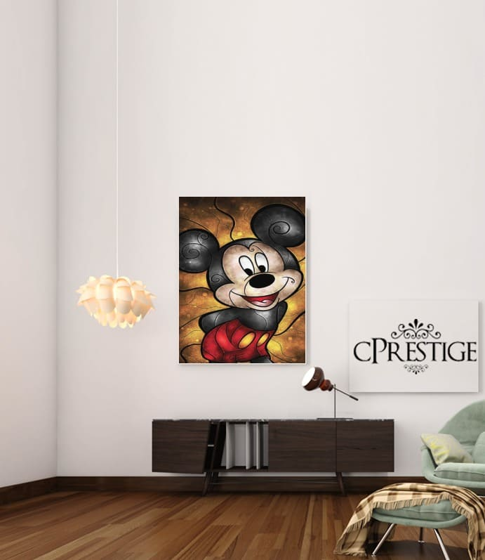 Mouse of the House for Art Print Adhesive 30*40 cm