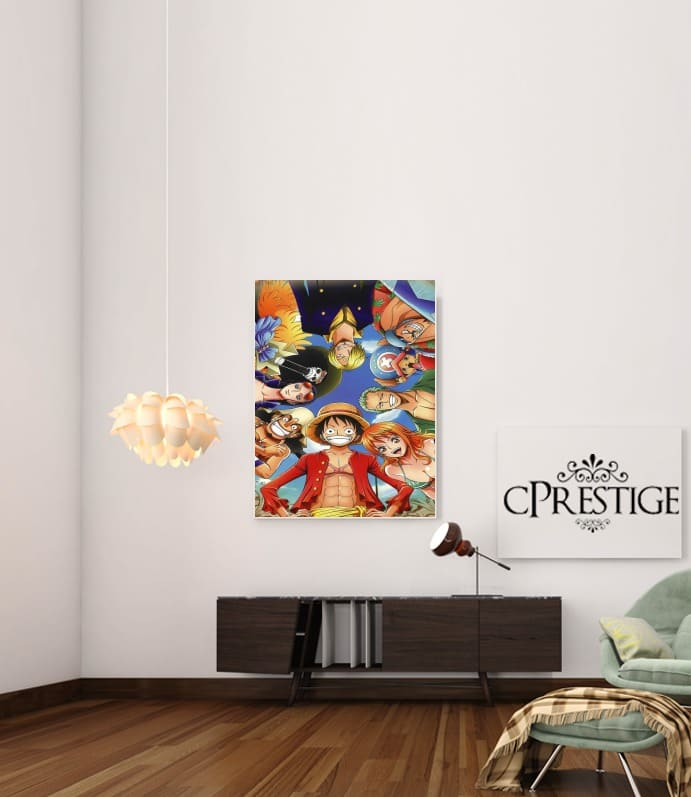 One Piece CREW for Art Print Adhesive 30*40 cm