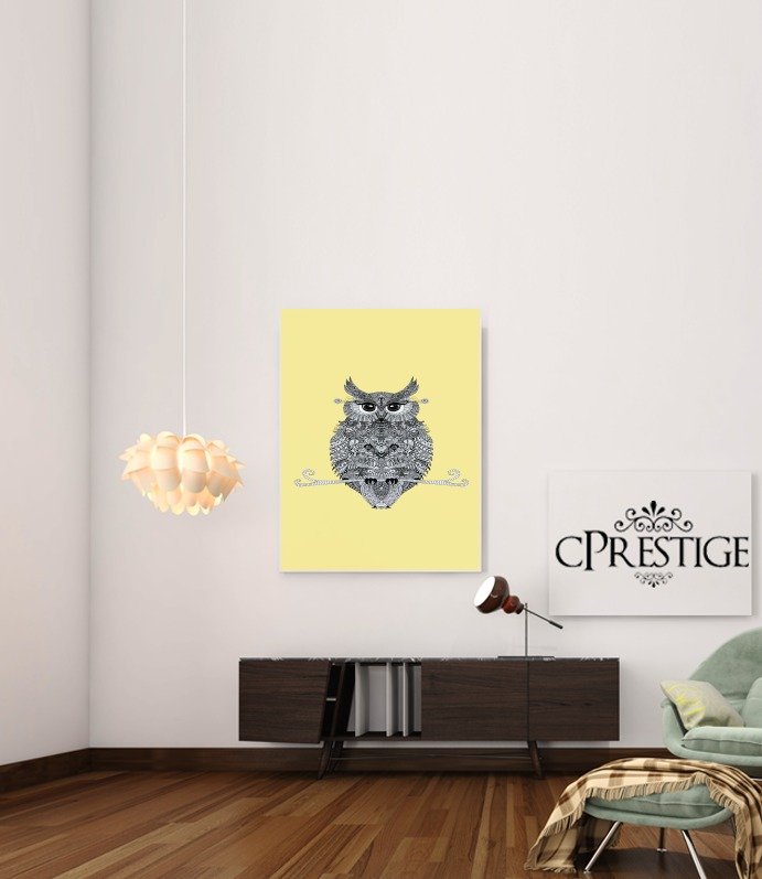 Owl for Art Print Adhesive 30*40 cm