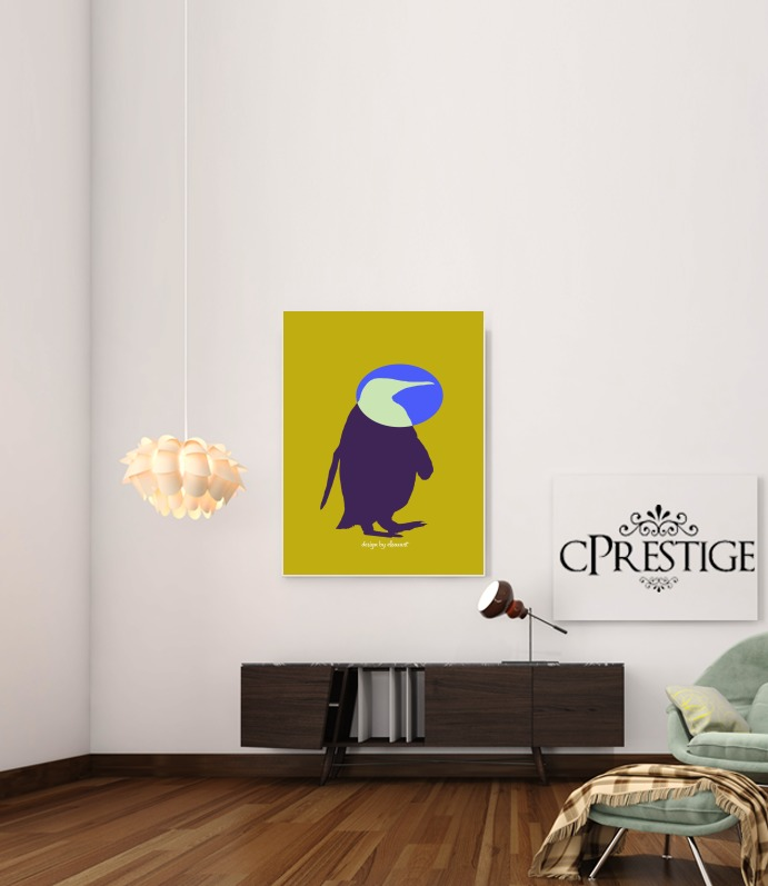 Penguin for Art Print Adhesive 30*40 cm