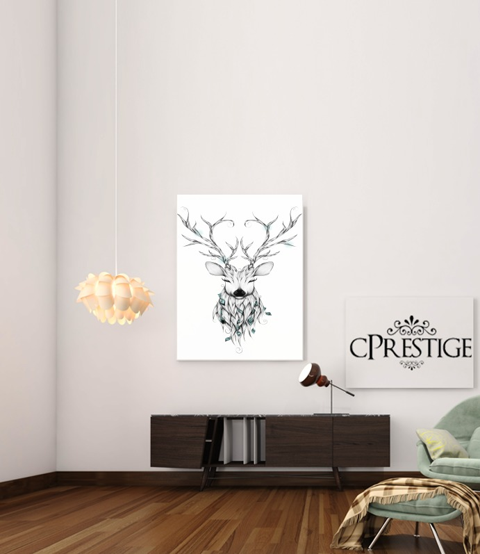 Poetic Deer for Art Print Adhesive 30*40 cm