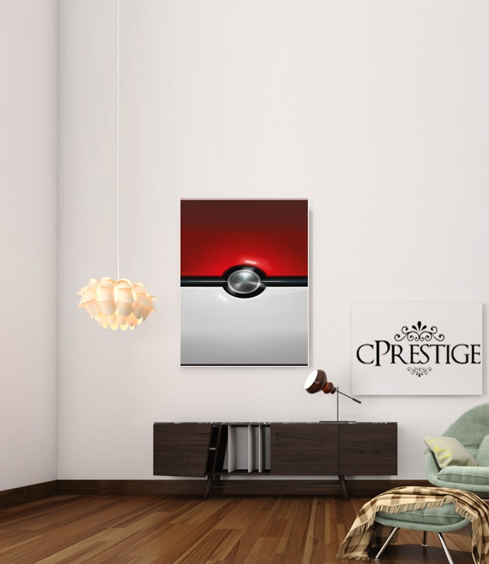 PokeBall for Art Print Adhesive 30*40 cm