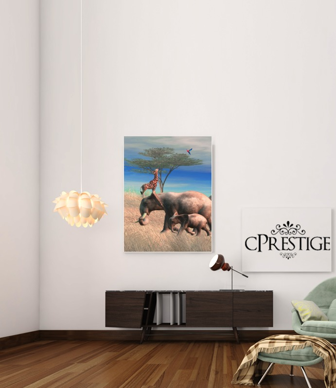Safari for Art Print Adhesive 30*40 cm