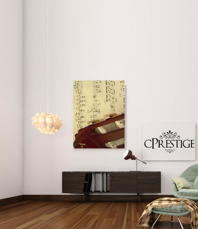 Sheet Music for Art Print Adhesive 30*40 cm