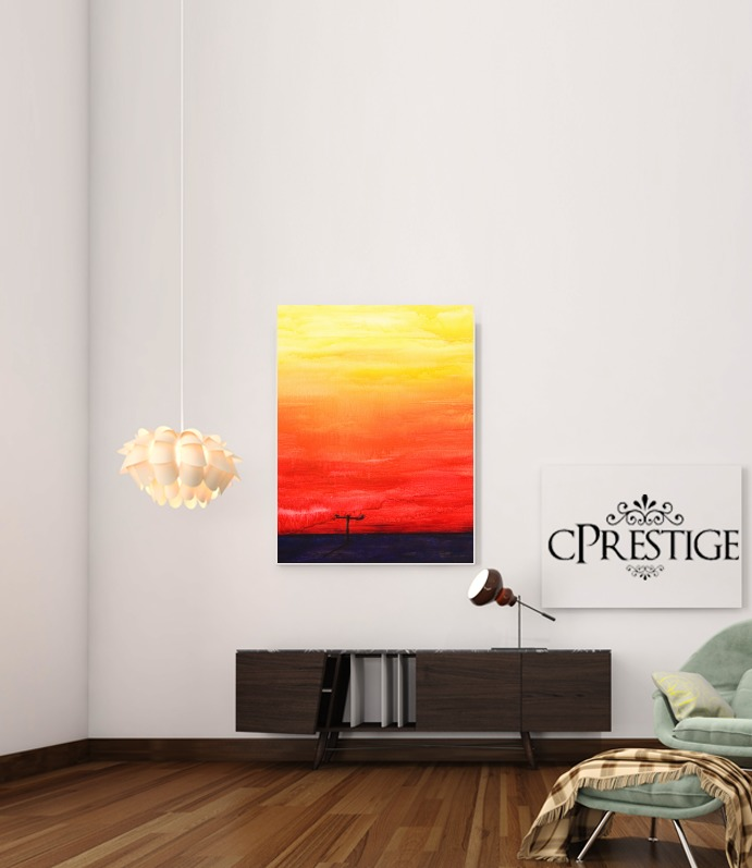 Sunset for Art Print Adhesive 30*40 cm