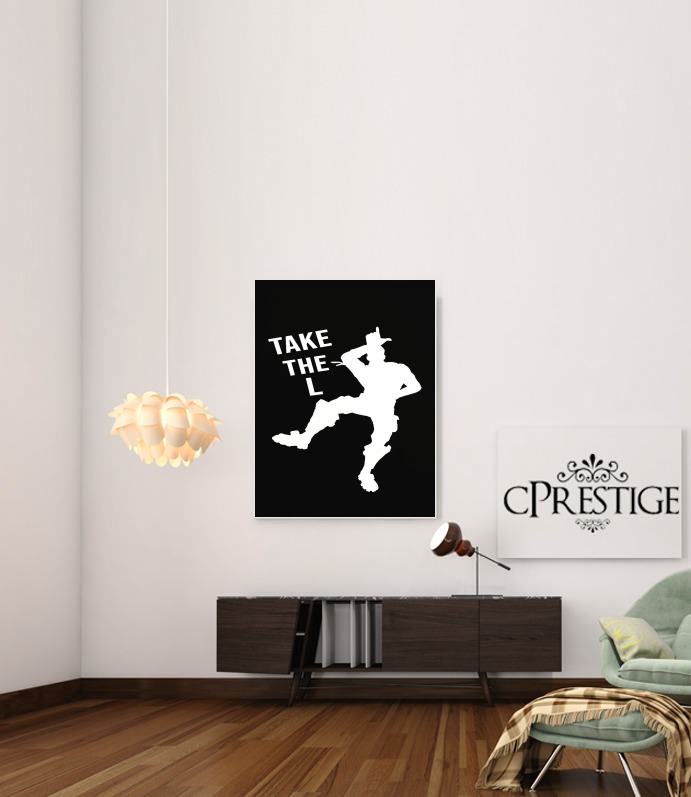 Take The L Fortnite Celebration Griezmann for Art Print Adhesive 30*40 cm