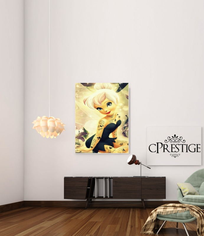 Tinker Bell for Art Print Adhesive 30*40 cm