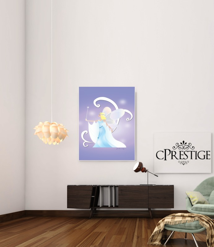 Virgo - Blue Fairy for Art Print Adhesive 30*40 cm