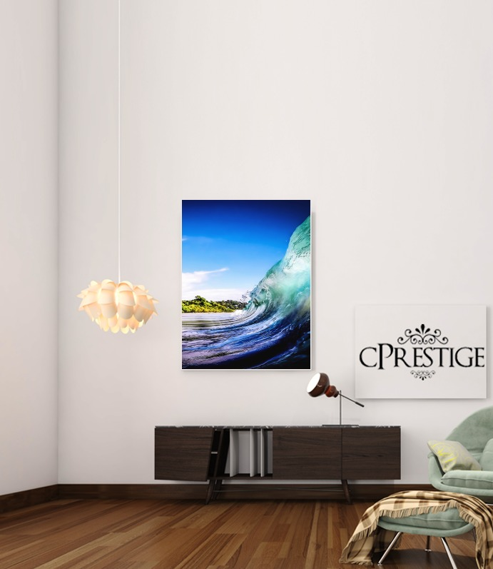 Wave Wall for Art Print Adhesive 30*40 cm