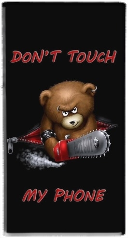 Don't touch my phone for Powerbank Universal Emergency External Battery 7000 mAh