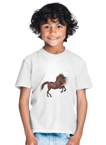 A Horse In The Sunset for Kids T-Shirt