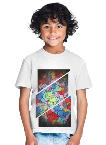 Abstract Cool Cubes for Kids T-Shirt