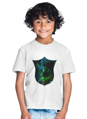 Abstract neon Leopard for Kids T-Shirt