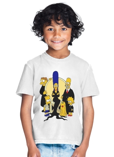Adams Familly x Simpsons for Kids T-Shirt