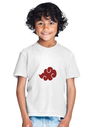 Akatsuki Cloud REd for Kids T-Shirt
