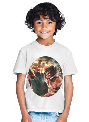 Attack on titan - Shingeki no Kyojin for Kids T-Shirt