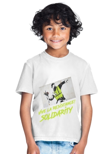 Bansky Yellow Vests for Kids T-Shirt