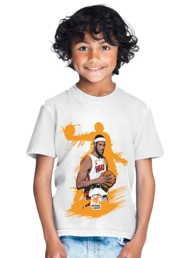 Basketball Stars: Lebron James for Kids T-Shirt