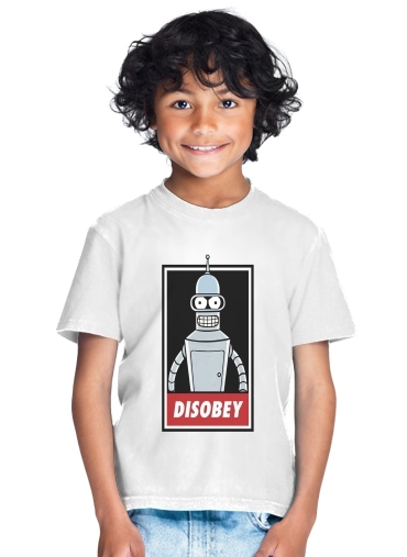 Bender Disobey for Kids T-Shirt