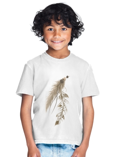 Boho Feather for Kids T-Shirt