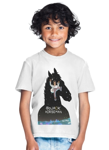 Bojack horseman fanart for Kids T-Shirt