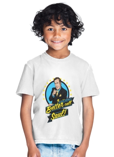 Breaking Bad Better Call Saul Goodman lawyer for Kids T-Shirt
