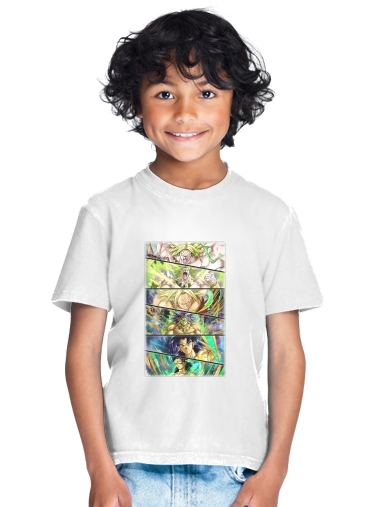 Broly Evolution for Kids T-Shirt