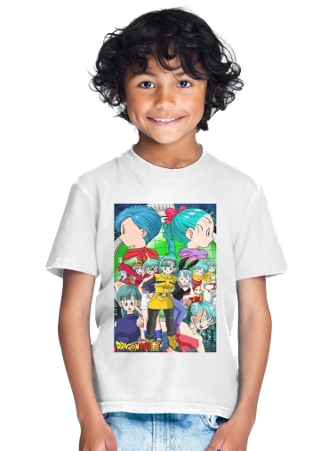 Bulma Dragon Ball super art for Kids T-Shirt