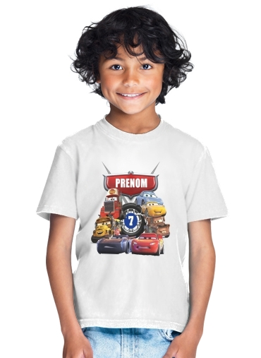 Cars Birthday Gift for Kids T-Shirt