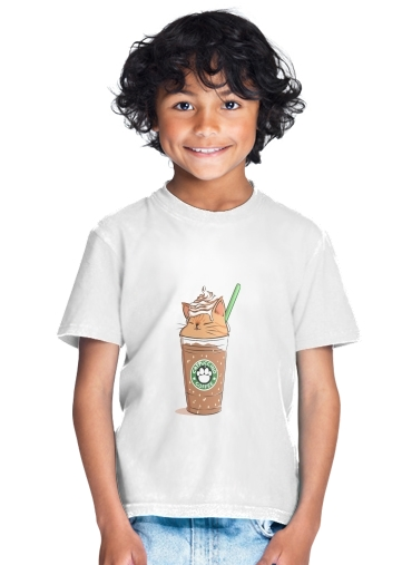Catpuccino Caramel for Kids T-Shirt