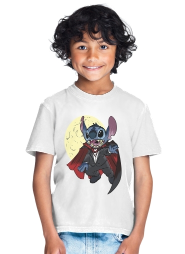 Dracula Stitch Parody Fan Art for Kids T-Shirt