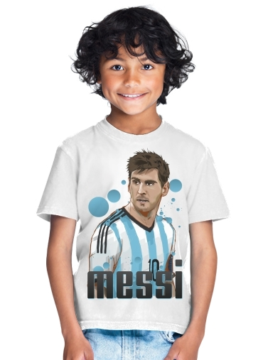 Football Legends: Lionel Messi World Cup 2014 for Kids T-Shirt