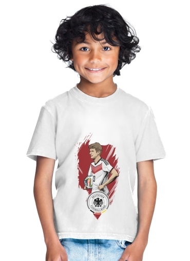 Football Stars: Thomas Müller - Germany for Kids T-Shirt