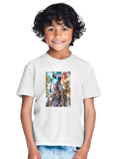 Fortnite Characters with Guns for Kids T-Shirt