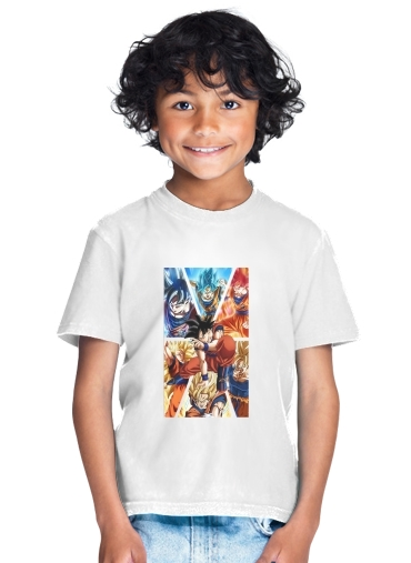 Goku Ultra Instinct for Kids T-Shirt